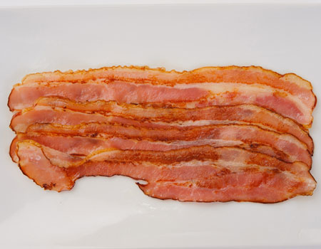 TOPPING BACON
